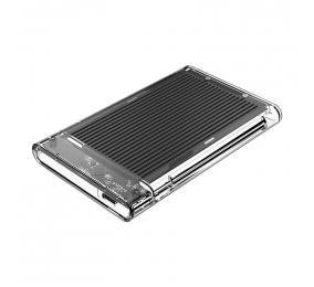 """Caixa Externa 2.5"""" Orico 2179C3 SATA I/II/III para USB 3.1 Type-C Transparente/Preta"""