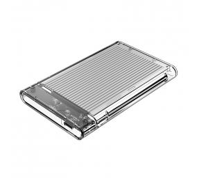 "Caixa Externa 2.5"" Orico 2179C3 SATA I/II/III para USB 3.1 Type-C Transparente/Cinza"