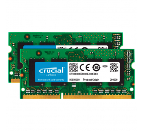 Memória RAM SO-DIMM Crucial Value 16GB (2x8GB) DDR3L-1600MHz CL11 for Mac