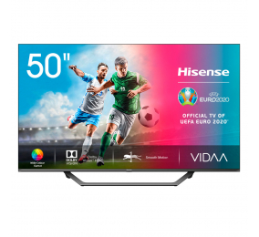 "Televisão Plana Hisense Série A7500F SmartTV 50"" LED 4K UHD"