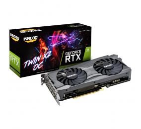 Placa Gráfica INNO3D GeForce RTX 3070 TWIN X2 8GB GDDR6 OC LHR