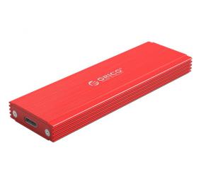 Caixa Externa M.2 Orico PRM2-C3 M.2 NVMe PCIe / USB-C (USB 3.1 Gen2) Vermelha