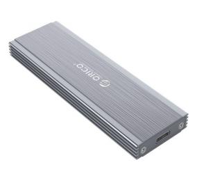 Caixa Externa M.2 Orico PRM2-C3 M.2 NVMe PCIe / USB-C (USB 3.1 Gen2) Cinza