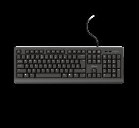 Teclado Trust TK-150 Silent Keyboard PT Preto