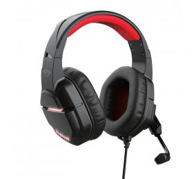 Headset Trust GXT 448 Nixxo Illuminated Preto