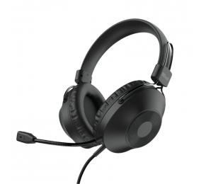 Headset Trust Ozo Over-Ear USB Preto