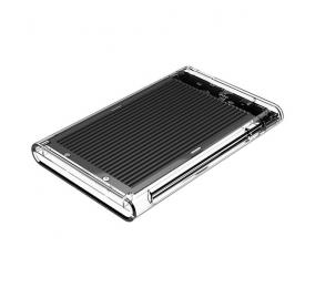"""Caixa Externa 2.5"""" Orico 2179U3 SATA I/II/III para USB 3.0 Type-B Transparente/Preta"""