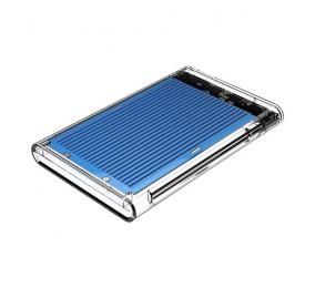 """Caixa Externa 2.5"""" Orico 2179U3 SATA I/II/III para USB 3.0 Type-B Transparente/Azul"""