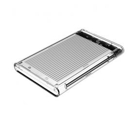 "Caixa Externa 2.5"" Orico 2179U3 SATA I/II/III para USB 3.0 Type-B Transparente/Cinza"