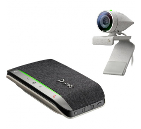 Kit Webcam Poly Studio P5 com Speakerphone Poly Sync 20+