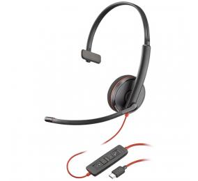 Headset Plantronics Poly Blackwire C3215 USB-C