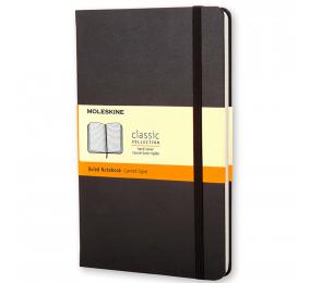 Caderno de Bolso Pautado Moleskine Clássico Preto