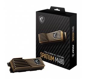 SSD M.2 2280 MSI Spatium M480 2TB c/ Heatsink 3D NAND NVMe