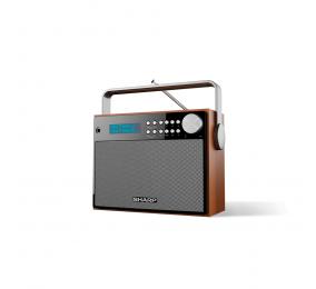 Rádio Sharp DR-P350 Portable Digital Radio