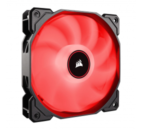 Ventoinha 120mm Corsair 1400RPM AF120 LED (2018) Vermelho 4 Pinos PWM (Single Pack)