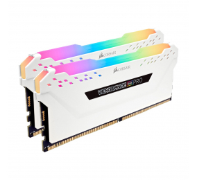 Memória RAM Corsair Vengeance RGB Pro 32GB (2x16GB) DDR4-3200MHz CL16 Branca