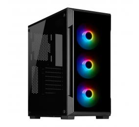 Caixa ATX Corsair iCUE 220T RGB Vidro Temperado Preta