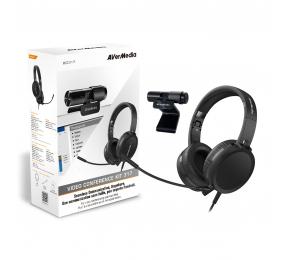 Kit AverMedia Video Conference 317 - BO317 (Câmara PW313 + Headset AH313)