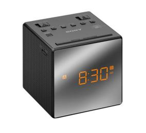 Rádio Despertador Sony ICF-C1T FM/AM com Alarme Duplo Preto