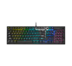 Teclado Mecânico Corsair K60 RGB Pro Gaming Cherry MX Low Profile Speed PT