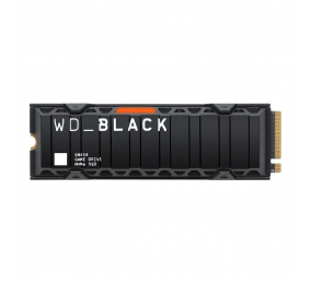 SSD M.2 2280 Western Digital Black SN850 c/ Heatsink 1TB 3D NAND NVMe