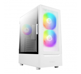 Caixa ATX Antec NX410 Gaming RGB Tempered Glass Branca