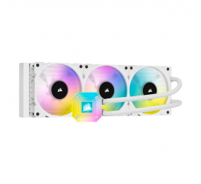 Water Cooler CPU Corsair iCUE H150i RGB Elite Capellix 360mm Branco