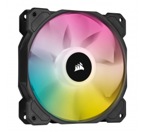 Ventoinha 120mm Corsair 1500RPM SP120 RGB ELITE 4 Pinos PWM (Single Pack)