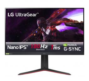 "Monitor LG UltraGear 32GP850-B Nano IPS 32"" QHD 16:9 165Hz FreeSync / G-SYNC Compatible"