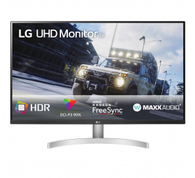 "Monitor LG 32UN500-W VA 31.5"" 4K UHD 16:9 60Hz FreeSync"