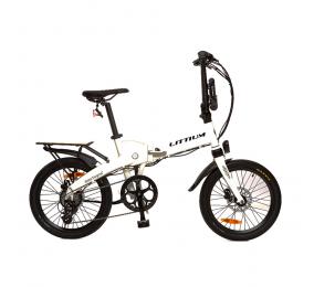 Bicicleta Elétrica Littium Ibiza Dogma 03 Branca