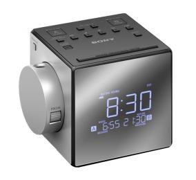 Rádio Despertador Sony ICF-C1PJ FM/AM com Projetor de Horas