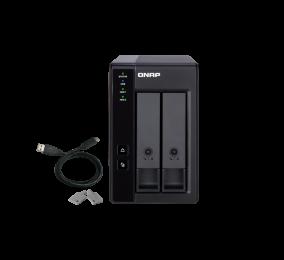 NAS QNAP TR-002 2 Baías USB Type-C