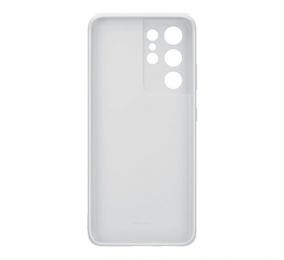 Capa Samsung Silicone Cover Samsung Galaxy S21 Ultra Light Gray