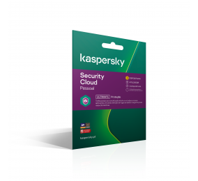 Software Kaspersky Security Cloud Personal 2020 3 Dispositivos 1 Ano