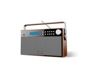 Rádio Sharp DR-P355 Stereo Portable Digital Radio