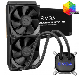 Water Cooler CPU EVGA CLC 240mm All-In-One RGB