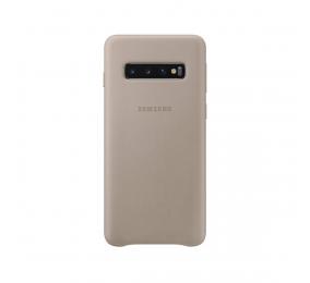 Capa Samsung Leather S10 Cinzenta