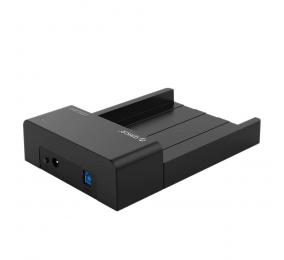 """Dock Station Orico 6518US3-V2 3.5""""/2.5"""" HDD/SSD para USB 3.0 Type-B Preta"""