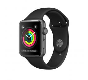 Apple Watch Series 3 GPS 42mm Alumínio Cinzento Sideral c/ Bracelete Desportiva Preta