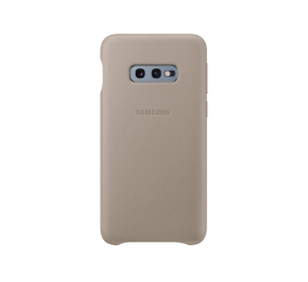 Capa Samsung Leather S10e Cinzenta