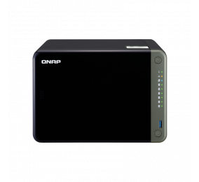 NAS QNAP TS-653D 6 Baías 2.0GHz Quad-Core