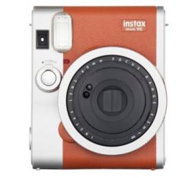 Máquina Fotográfica Instantânea Fujifilm Instax Mini 90 Neo Classic Castanha