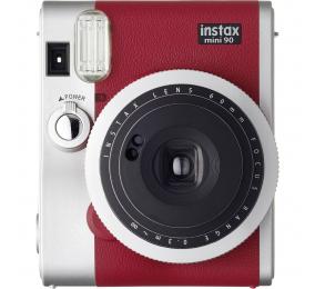 Máquina Fotográfica Instantânea Fujifilm Instax Mini 90 Neo Classic Vermelha