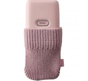 Bolsa Fujifilm Instax Mini Link Sock Rosa