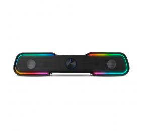 Soundbar Ozone Solo RGB 2.0 6W RMS Bluetooth Preta