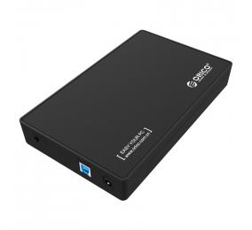 """Caixa Externa 3.5"""" Orico 3588US3-V1 SATA I/II/III para USB 3.0 Preta"""
