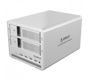 """Caixa Externa 3.5"""" Orico 9528RU3 SATA I/II/III para USB 3.0 Type-B Cinza"""