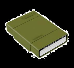 """Caixa de Proteção Orico PHP35-V1 para HDD 3.5"""" Verde"""