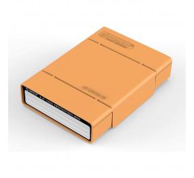 """Caixa de Proteção Orico PHP35-V1 para HDD 3.5"""" Laranja"""